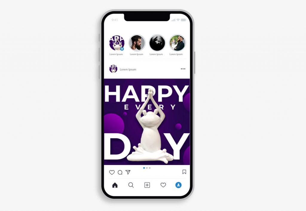 Дизайн постов для социальных сетей