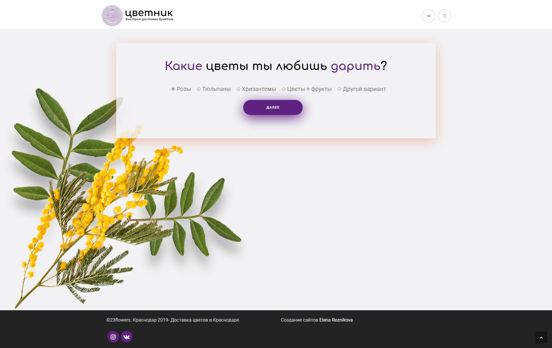сайт опросник