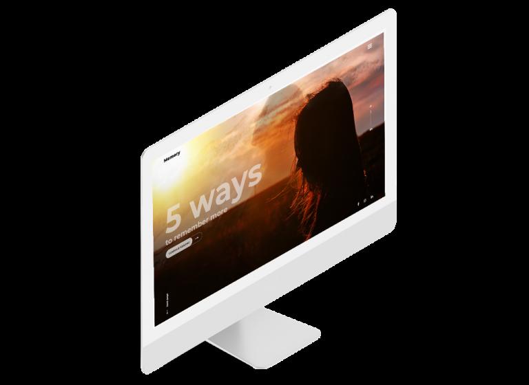 Дизайн промо сайта