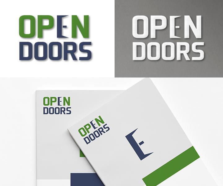 Логотип для компании по производству дверей
