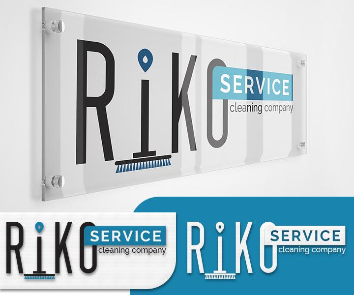 Дизайн логотипа клининговой компании