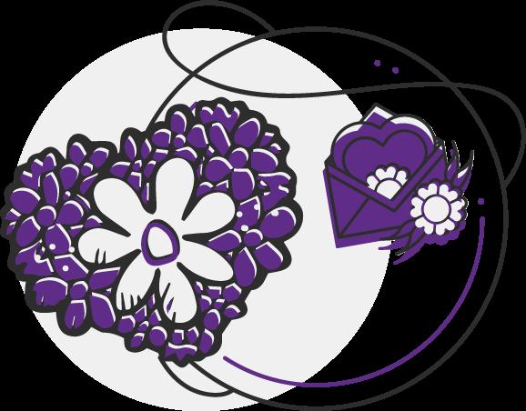 иконка для доставки цветов