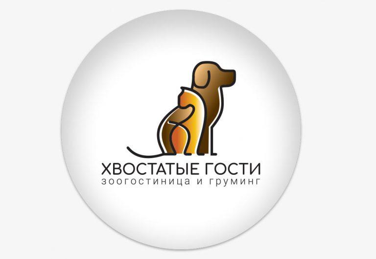 """Логотип для зоосалона """"Хвостатые гости"""""""