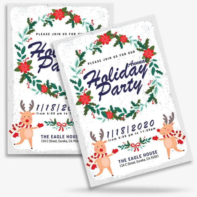 Дизайн флаера приглашения на вечеринку