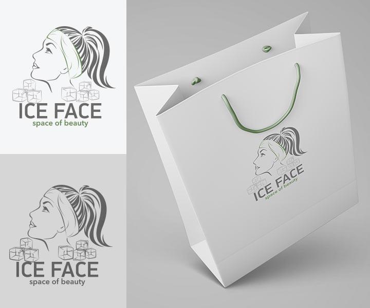 Редизайн логотипа для студии ICE FACE