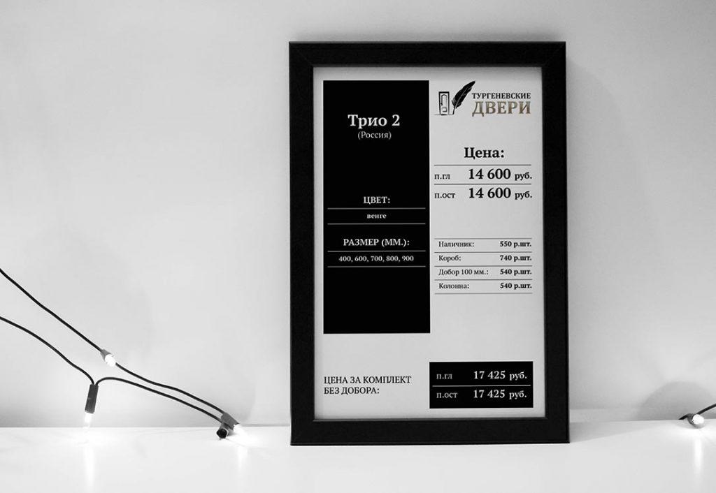 Дизайн ценников